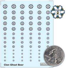 Clan Ghost Bear Decals