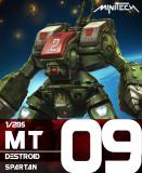 MT09 Robotech Macross Destroid Spartan