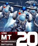 MT20 Robotech Macross Reconnaissance Battlepod (Set of 3)