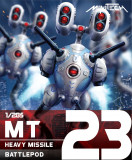 MT23 Robotech Macross Heavy Missile Battlepod (Set of 3)