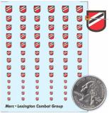 Lexington Combat Group Decals