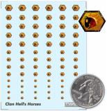Clan Hells Horses Decals