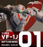 MT01 Robotech Macross Valkyrie VF1J Battloid Mode (Hikaru Ver)