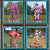 Classic Battletech - Recon Lance