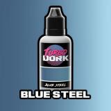 Acrylfarbe Blue Steel Metallic (20 ml)